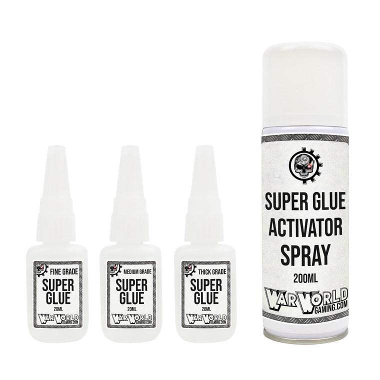 Fine Grade Super Glue + Accelerator