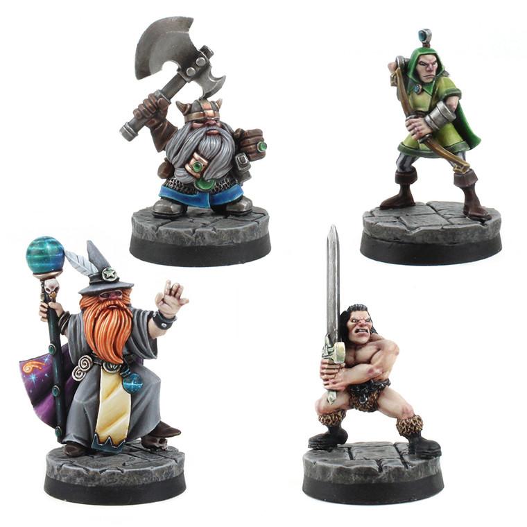 Fantasy Hero Miniatures - Set of 4