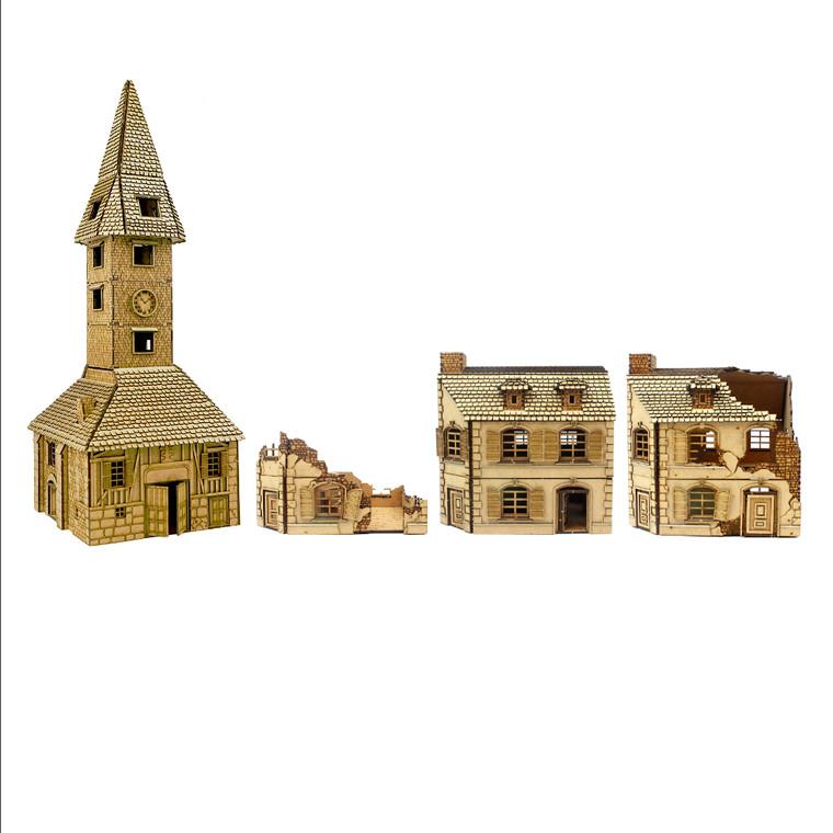 Normandy Buildings Set 1