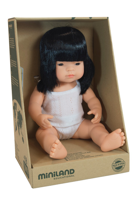 Miniland Asian Girl 38cm