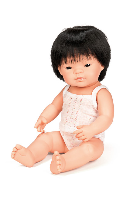 Miniland Asian Boy 38cm