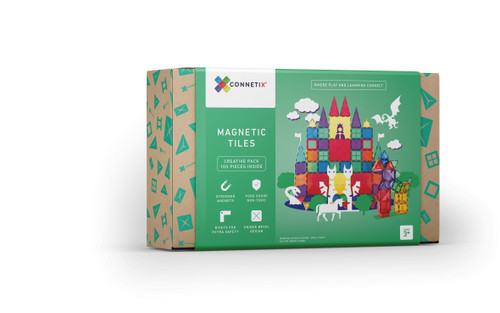 Connetix Tiles Creative Pack (100 Pieces)