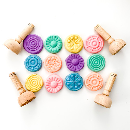 Wooden Dough Stamper