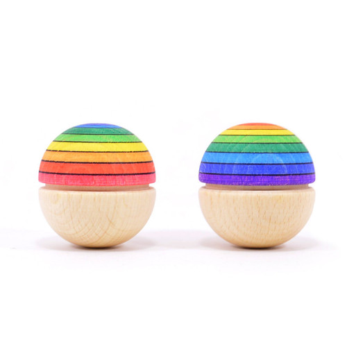 Mader Roly Poly Rainbow Wiggle Ball