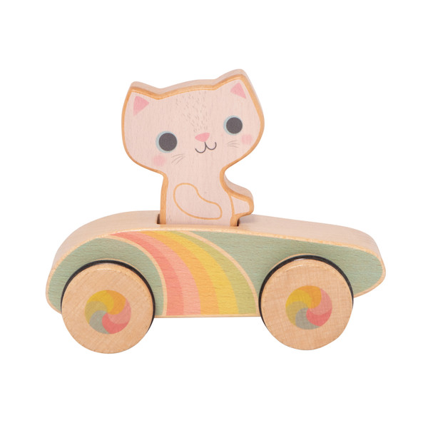Tiger Tribe Rainbow Roller Crusin Kitty