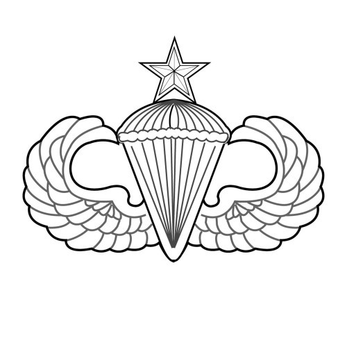 AF31U - Parachutist - Senior
