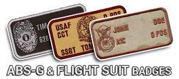 Shop ABS-G & Flight Suit Badges