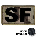 Multicam OCP SF IR Duty Identifier Tab Patch with hook backing