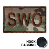 USAF Spice Brown Multicam OCP SWO Duty Identifier Tab Patch
