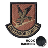 Defensor Fortis Enlisted Flash patch for Security Forces Beret OCP