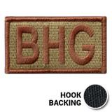 BHG Duty Identifier Patch - OCP