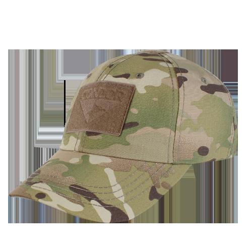 Multicam OCP CONDOR Tactical Cap  6-Panel Full - 2 x 3 velcro (Flag)