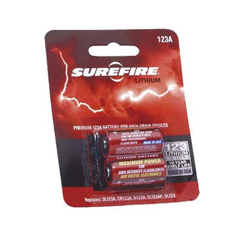 SureFire 123A Lithium Batteries (2 Pack)