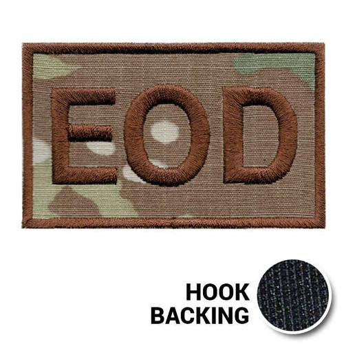 USAF Spice Brown Multicam OCP EOD Duty Identifier Tab Patch