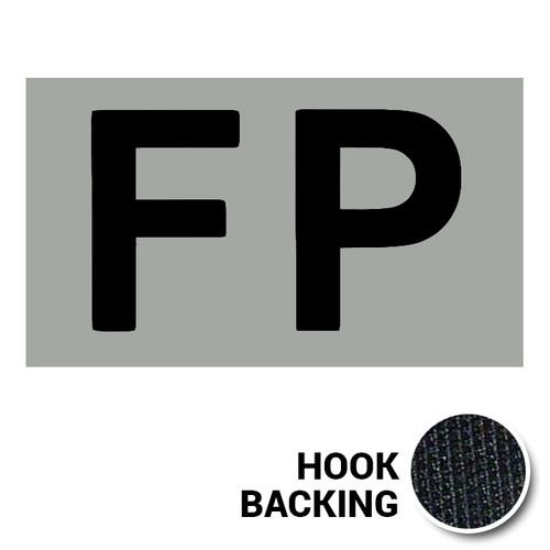 FP IR Duty Identifier Tab Patch with hook backing