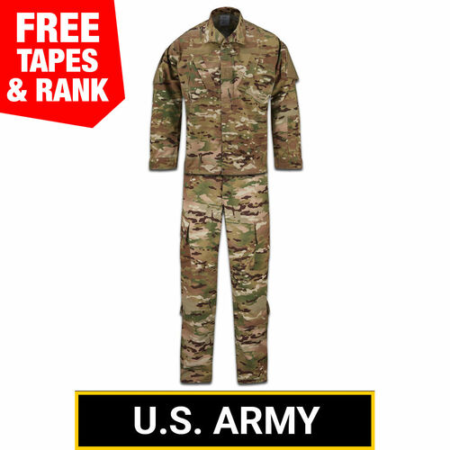 ARMY Multicam OCP ACU Coat and Trouser Ensemble - 50/50 NYCO