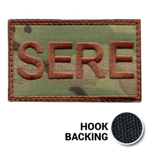 USAF Spice Brown Multicam OCP SERE Duty Identifier Tab Patch