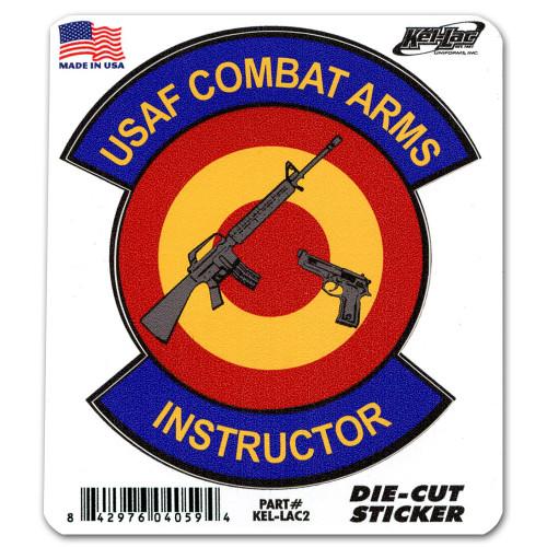 Combat Arms Instructor Die-Cut Sticker