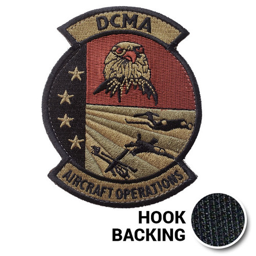DCMA Aircraft Ops Patch 1 - OCP (w/ Hook Back)