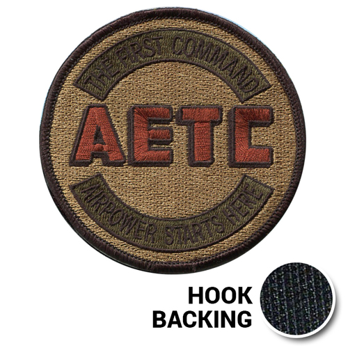 [LEGACY] AETC First Command Patch - OCP (w/ Hook Back)