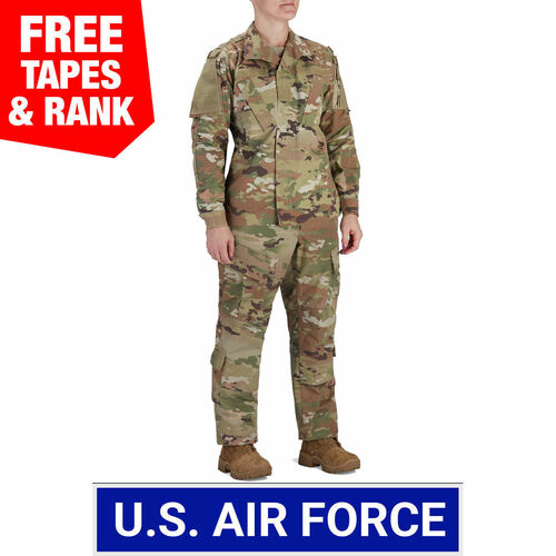 Women's USAF Multicam OCP ACU Coat and Trouser Ensemble - 50/50 NYCO