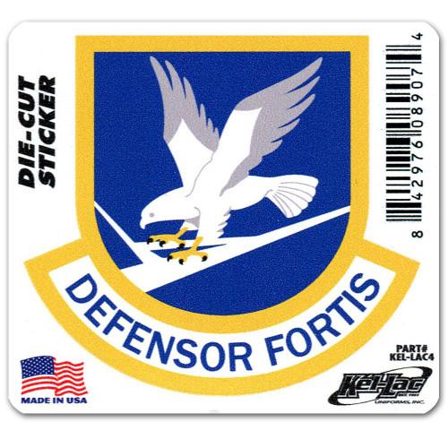 Security Forces Defensor Fortis Die-Cut Sticker