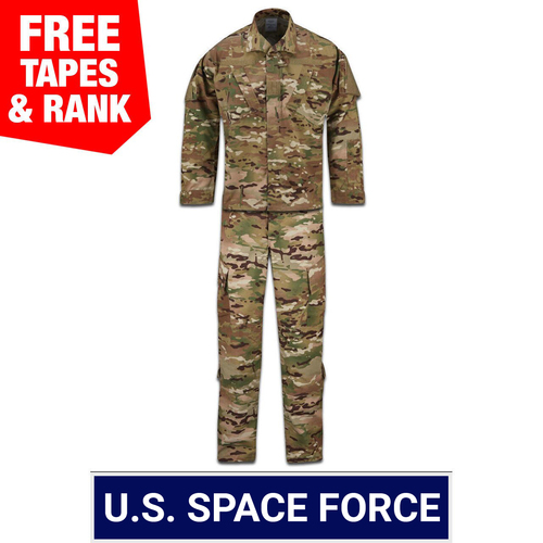 USSF Multicam OCP ACU Coat and Trouser Ensemble - 50/50 NYCO