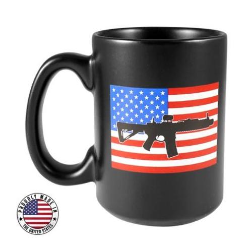 BRCC RWB AR Flag Ceramic Mug