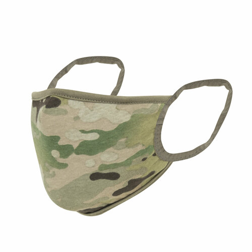 Rothco Reversible 3-Layer Face Mask - Multicam / Coyote