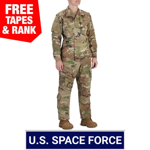 USSF Multicam OCP ACU Coat and Trouser Ensemble, Womens - 50/50 NYCO