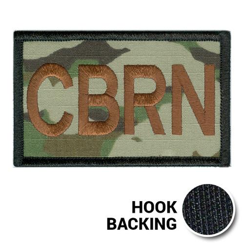 USAF Spice Brown Multicam OCP SF Duty Identifier Tab Patch
