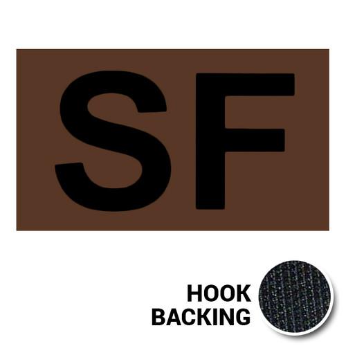 SF IR Duty Identifier Tab Patch with hook backing