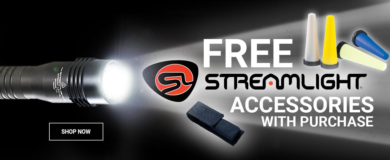 Free Streamlight Accessories