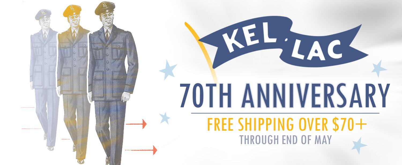 It's Kel-Lac's 70th Birthday!