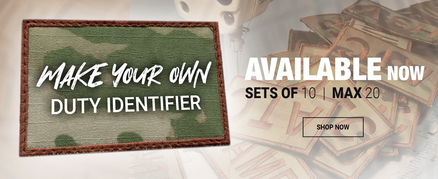 Make Your Own Duty IDs - Available Now!