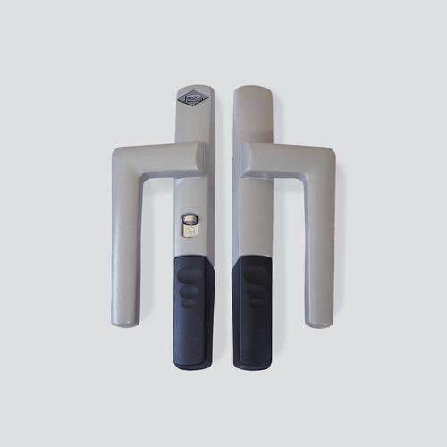 Silver lever lock handles