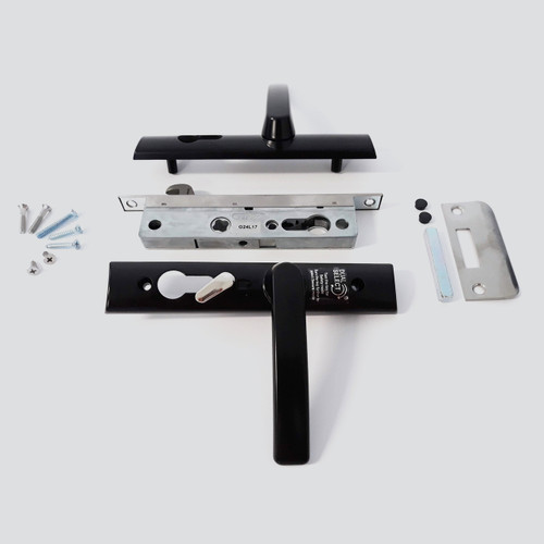 LCK686 hinge security door handle kit