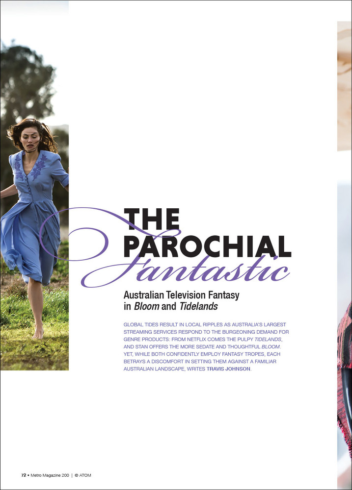 The Parochial Fantastic: Australian Television Fantasy in 'Bloom' and 'Tidelands'