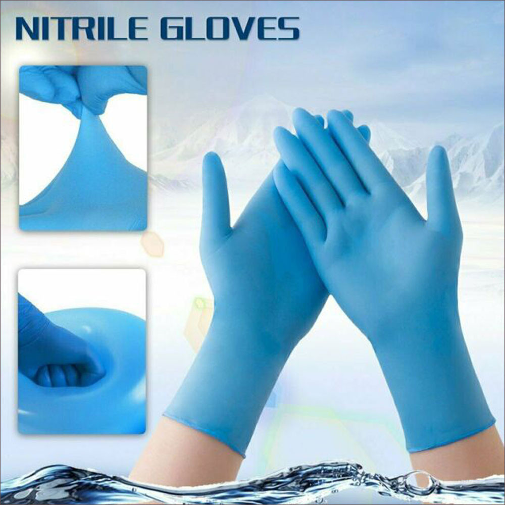 Heavy-duty Disposable Gloves (5-pair set)