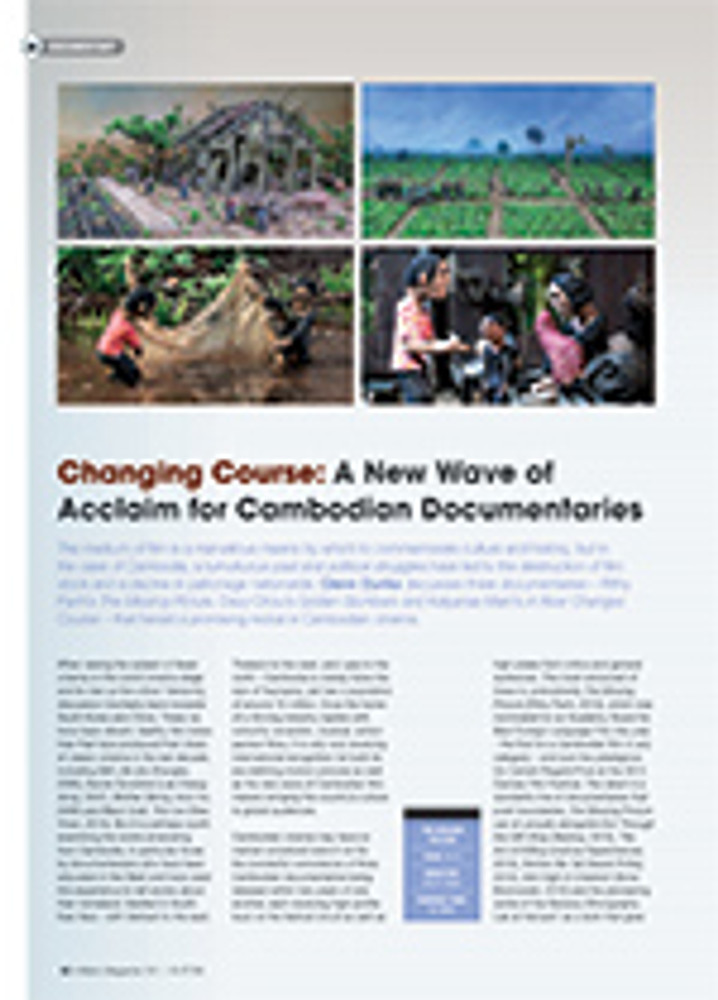 Changing Course: A New Wave of Acclaim for Cambodian Documentaries