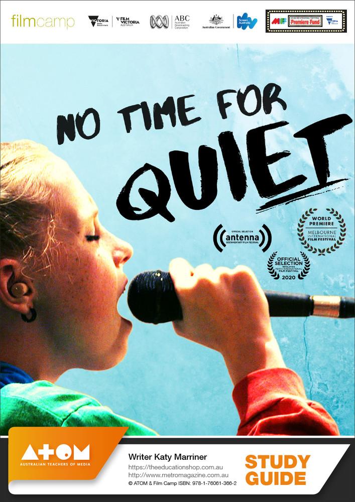 No Time For Quiet (ATOM Study Guide)