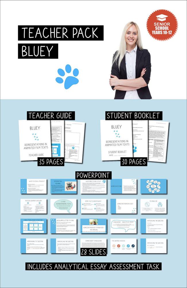 Bluey (Teacher Pack) - Senior School Years 10-12