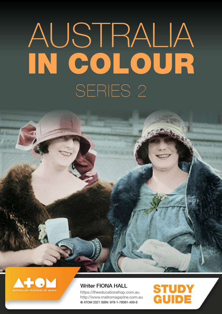 Australia in Colour - Series 2 (ATOM Study Guide)