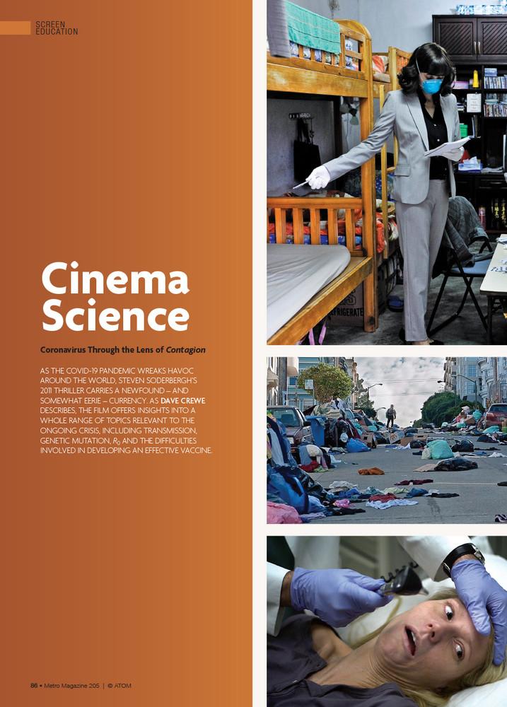 Cinema Science: Coronavirus Through the Lens of 'Contagion'