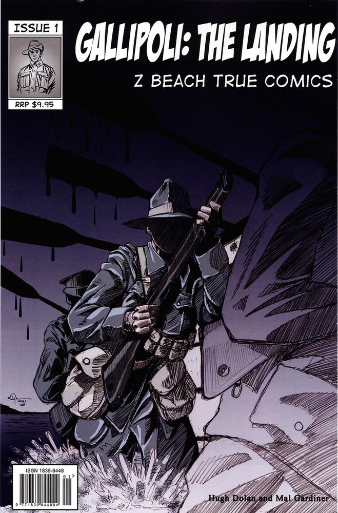 Gallipoli: The Landing (b&w)