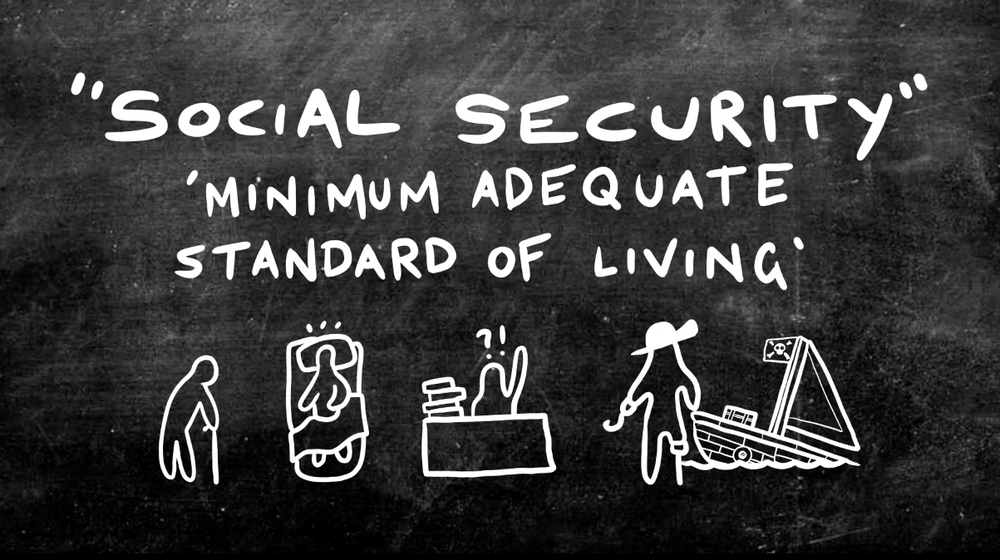 History Bites Back - Social Security (1-Year Rental)