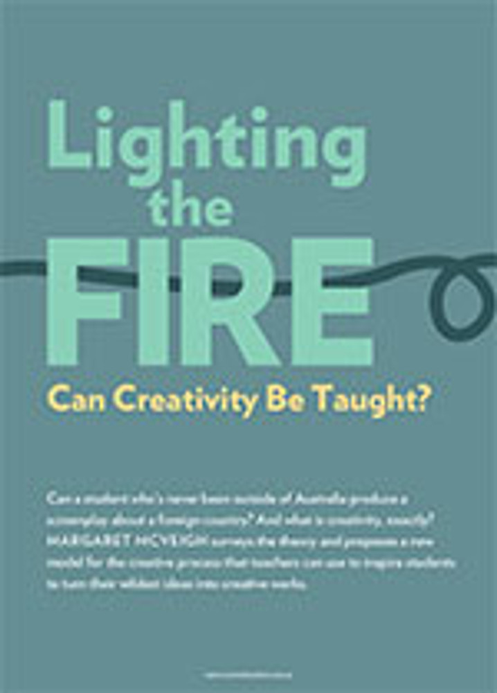 Lighting the Fire: Can Creativity Be Taught?