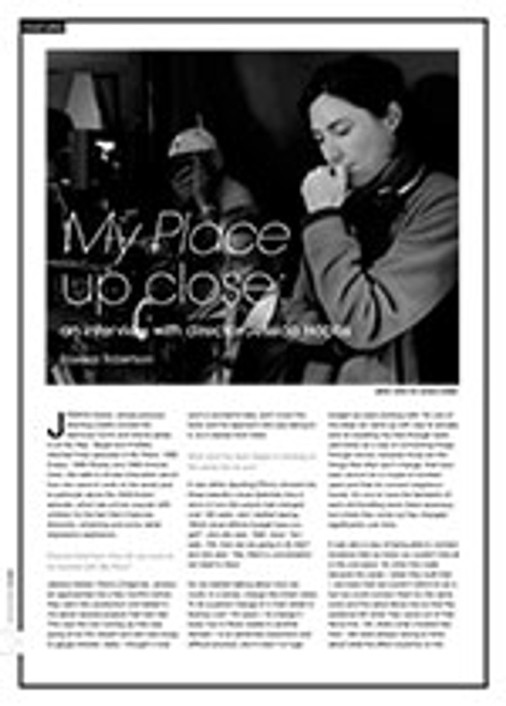 <i>My Place</i> Up Close: An Interview with Director Jessica Hobbs