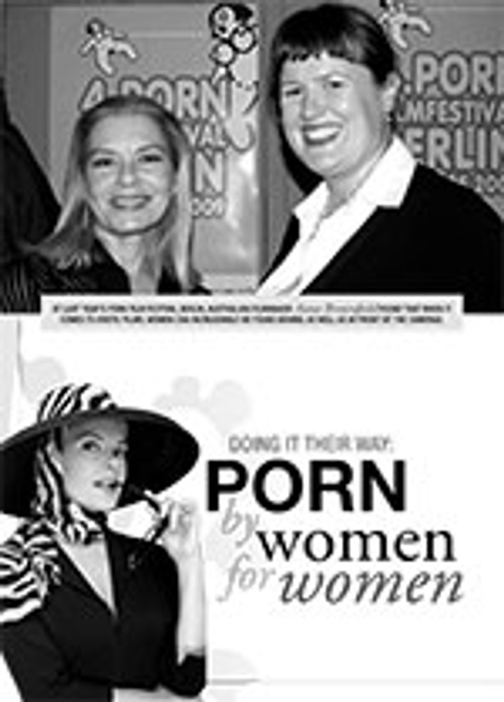 Doing It Their Way: Porn by Women for Women