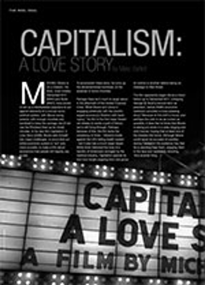 <i>Capitalism: A Love Story</i>